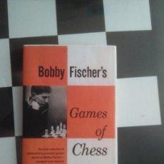 Coleccionismo deportivo: AJEDREZ. BOBBY FISCHER 'S GAMES OF CHESS (RARO) SIMON & SCHUSTER 1959. Lote 56528494