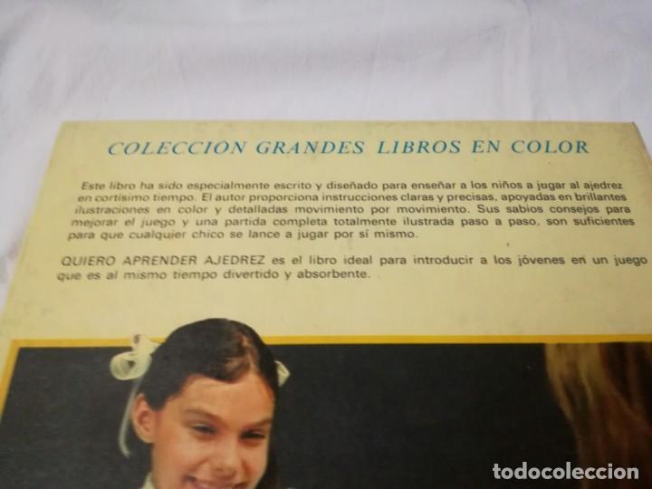 Coleccionismo deportivo: quiero aprender ajedrez-editorial molino-1975gu5deporte - Foto 3 - 131058740