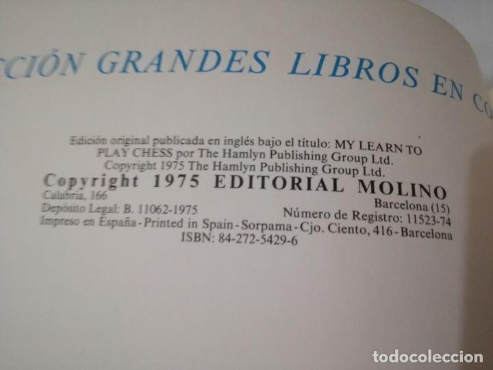 Coleccionismo deportivo: quiero aprender ajedrez-editorial molino-1975gu5deporte - Foto 5 - 131058740