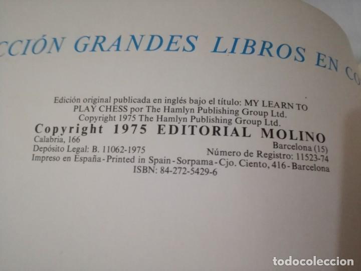 Coleccionismo deportivo: quiero aprender ajedrez-editorial molino-1975gu5deporte - Foto 6 - 131058740
