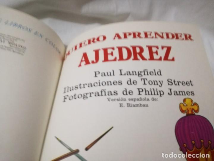 Coleccionismo deportivo: quiero aprender ajedrez-editorial molino-1975gu5deporte - Foto 8 - 131058740