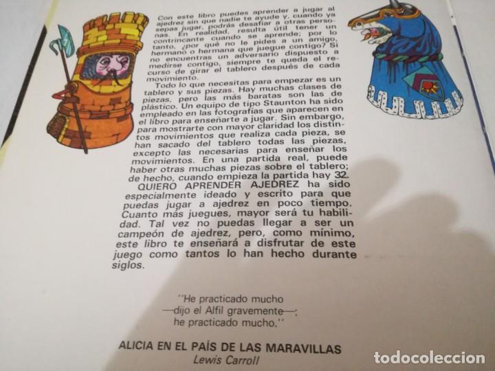 Coleccionismo deportivo: quiero aprender ajedrez-editorial molino-1975gu5deporte - Foto 10 - 131058740