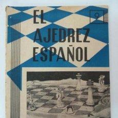 Collectionnisme sportif: EL AJEDREZ ESPAÑOL 9. Nº 64. AÑO 1958. Lote 131325678