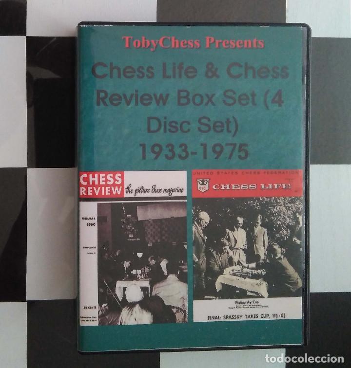?? AJEDREZ CHESS LIFE & CHESS REWIEW DISC (DVD) SET 1933-1975 (TOBY CHESS) (Coleccionismo Deportivo - Libros de Ajedrez)