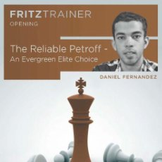 Coleccionismo deportivo: AJEDREZ. CHESS. THE RELIABLE PETROFF. AN EVERGREEN ELITE CHOICE - DANIEL FERNÁNDEZ DVD ROM. Lote 132689374