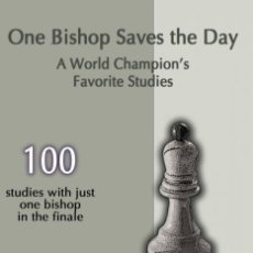 Coleccionismo deportivo: AJEDREZ. CHESS. THE ONE BISHOP SAVES THE DAY. A WORLD CHAMPION'S FAVORITE STUDIES - SERGEI TKACHENKO. Lote 132896906