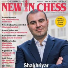 Coleccionismo deportivo: AJEDREZ. REVISTA NEW IN CHESS 2018-6 - THE NIC EDITORIAL TEAM. Lote 133776746
