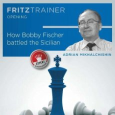 Coleccionismo deportivo: AJEDREZ. CHESS. HOW BOBBY FISCHER BATTLED THE SICILIAN - ADRIAN MIKHALCHISHIN DVD-ROM. Lote 133780526