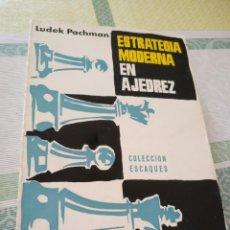 Coleccionismo deportivo - ESTRATEGIA MODERNA EN AJEDREZ - LUDEK PACHMAN - 133817374