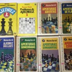Coleccionismo deportivo: LOTE LIBROS LIBRO DE AJEDREZ BRUGUERA. Lote 134001958