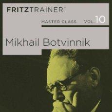 Coleccionismo deportivo: AJEDREZ. CHESS. MASTER CLASS VOL 10. MIKHAIL BOTVINNIK - THE CHESSBASE TEAM DVD-ROM. Lote 134712630