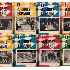 Coleccionismo deportivo: ♔♕ AJEDREZ ESPAÑOL 1961 AÑO COMPLETO N. 56 A 67 CHESS. Lote 136488174