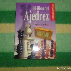 Coleccionismo deportivo: EL LIBRO DEL AJEDREZ , MAURICIO ROBLES. Lote 137138506