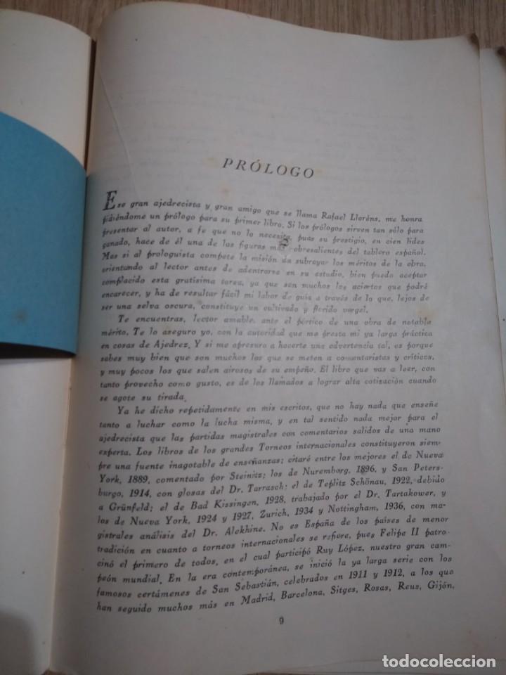 Coleccionismo deportivo: TORNEO INTERNACIONAL DE AJEDREZ DE BARCELONA 1946 RAFAEL LLORENS - Foto 3 - 138617358