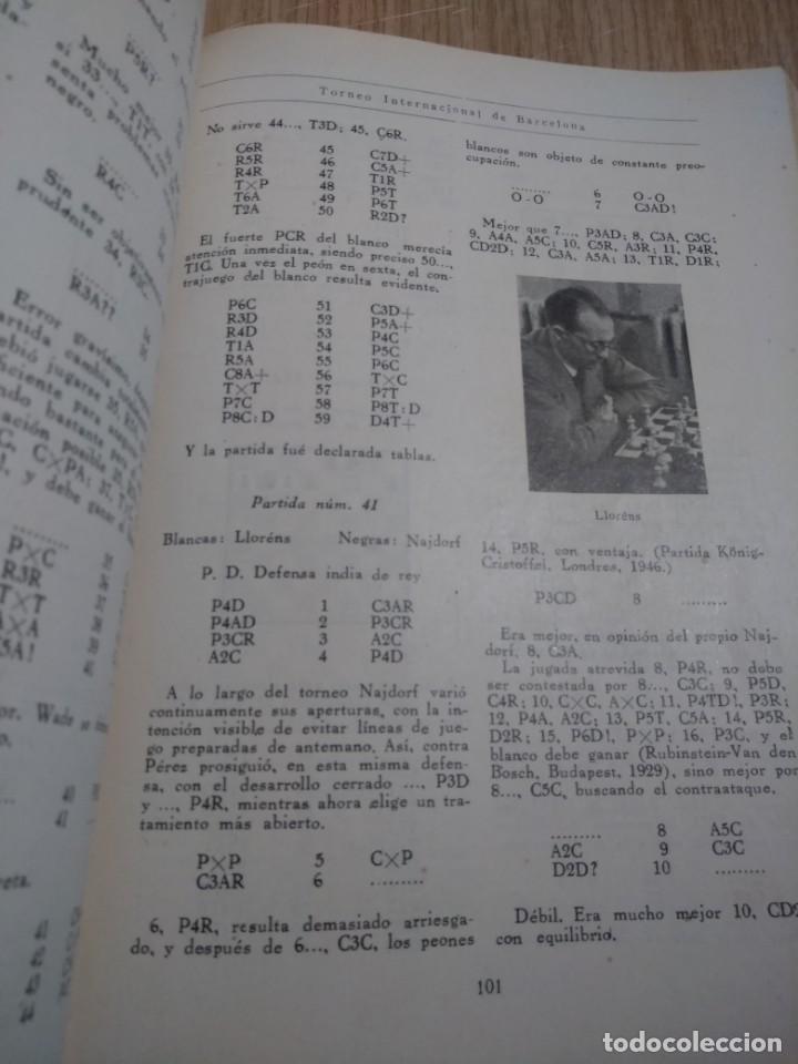 Coleccionismo deportivo: TORNEO INTERNACIONAL DE AJEDREZ DE BARCELONA 1946 RAFAEL LLORENS - Foto 5 - 138617358