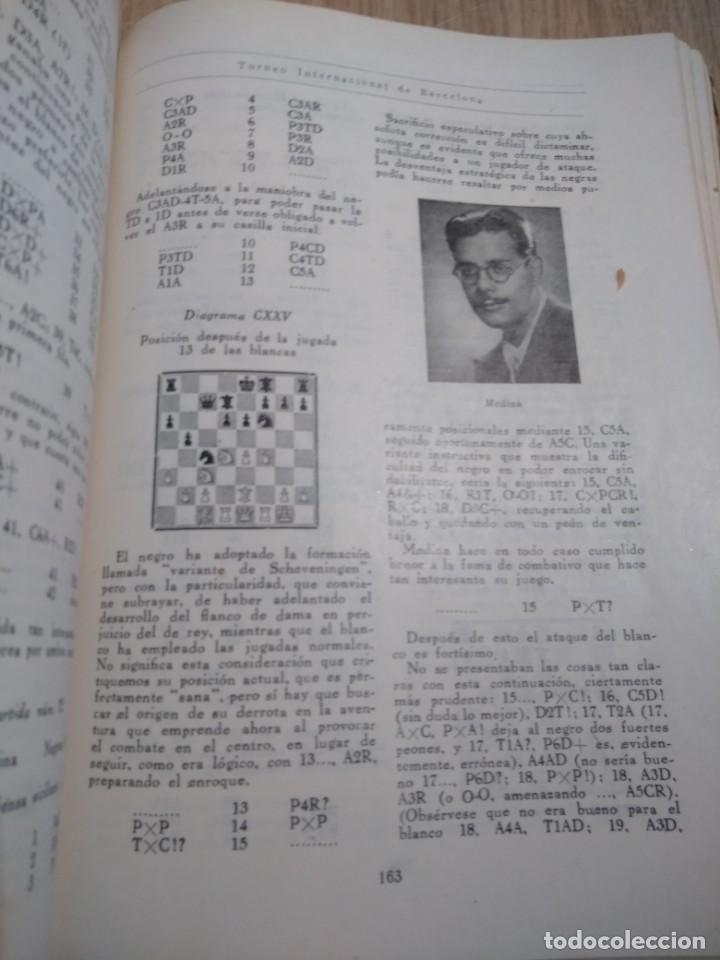 Coleccionismo deportivo: TORNEO INTERNACIONAL DE AJEDREZ DE BARCELONA 1946 RAFAEL LLORENS - Foto 6 - 138617358