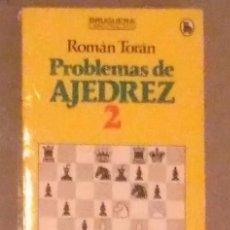 Coleccionismo deportivo: AJEDREZ TORAN PROBLEMAS DE AJEDREZ 2. Lote 142255941