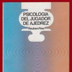 Coleccionismo deportivo: AJEDREZ PSICOLOGIA DEL JUGADOR DE AJEDREZ FINE ESCAQUES 52. Lote 139185314