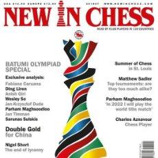 Coleccionismo deportivo: AJEDREZ. REVISTA NEW IN CHESS 2018-7 - THE NIC EDITORIAL TEAM. Lote 139475474