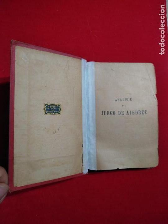 Coleccionismo deportivo: ANALISIS DEL JUEGO DE AJEDREZ ANDRE DANICAN FILIDOR 1926 - Foto 2 - 141222326