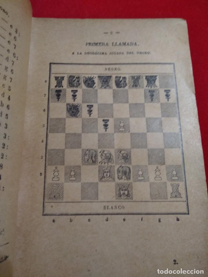 Coleccionismo deportivo: ANALISIS DEL JUEGO DE AJEDREZ ANDRE DANICAN FILIDOR 1926 - Foto 4 - 141222326