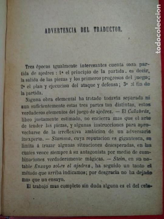 Coleccionismo deportivo: ANALISIS DEL JUEGO DE AJEDREZ ANDRE DANICAN FILIDOR 1926 - Foto 6 - 141222326