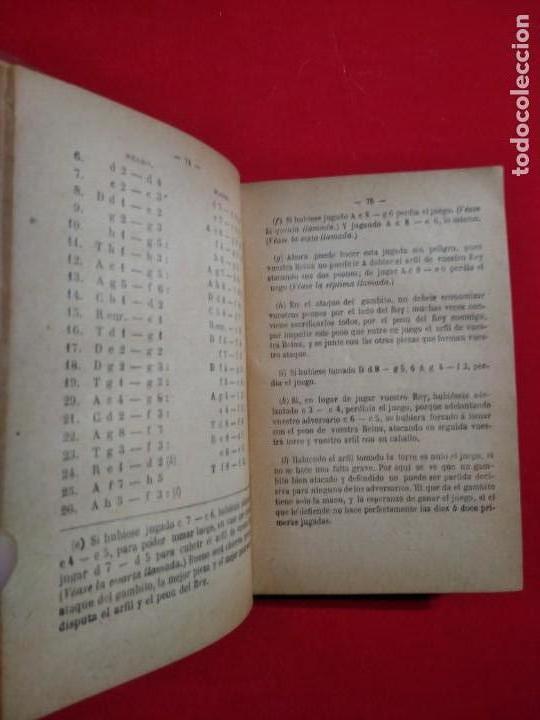 Coleccionismo deportivo: ANALISIS DEL JUEGO DE AJEDREZ ANDRE DANICAN FILIDOR 1926 - Foto 7 - 141222326