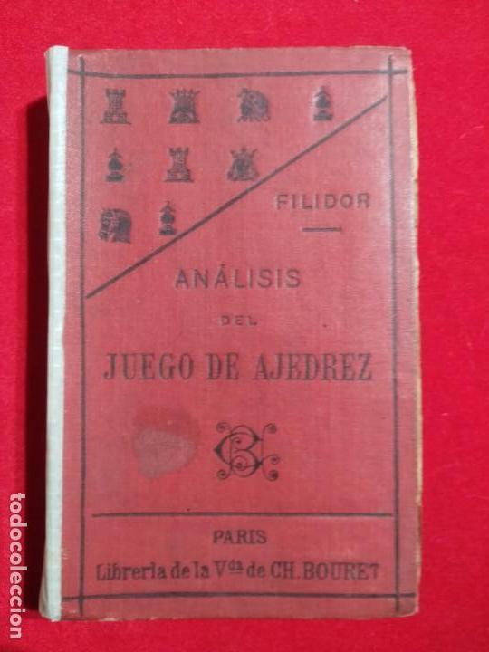 ANALISIS DEL JUEGO DE AJEDREZ ANDRE DANICAN FILIDOR 1926 (Coleccionismo Deportivo - Libros de Ajedrez)