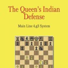Coleccionismo deportivo: AJEDREZ. CHESS. THE QUEEN'S INDIAN DEFENSE. MAIN LINE 4.G3 SYSTEM - MAXIM CHETVERIK. Lote 147091696