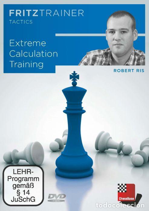 AJEDREZ. CHESS. EXTREME CALCULATION TRAINING. FRITZTRAINER TACTICS - ROBERT RIS DVD (Coleccionismo Deportivo - Libros de Ajedrez)