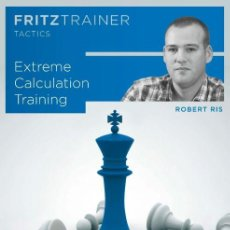 Coleccionismo deportivo: AJEDREZ. CHESS. EXTREME CALCULATION TRAINING. FRITZTRAINER TACTICS - ROBERT RIS DVD. Lote 145288914