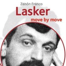 Coleccionismo deportivo: AJEDREZ. CHESS. LASKER. MOVE BY MOVE - ZENÓN FRANCO. Lote 145290378