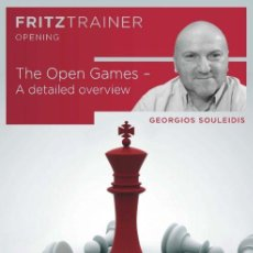 Coleccionismo deportivo: AJEDREZ. CHESS. THE OPEN GAMES. A DETAILED OVERVIEW - GEORGIOS SOULEIDIS DVD. Lote 145406782