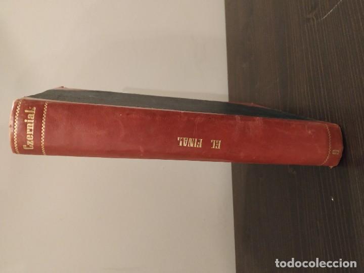 Coleccionismo deportivo: EL FINAL -ESTUDIO COMPLETO DE TODA PARTIDA DE AJEDREZ. MIGUEL CZERNIAK. BUENOS AIRES 1941,1ªEDICIÓN. - Foto 5 - 146887078
