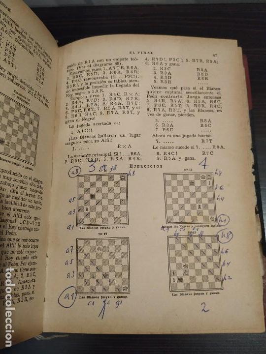 Coleccionismo deportivo: EL FINAL -ESTUDIO COMPLETO DE TODA PARTIDA DE AJEDREZ. MIGUEL CZERNIAK. BUENOS AIRES 1941,1ªEDICIÓN. - Foto 9 - 146887078