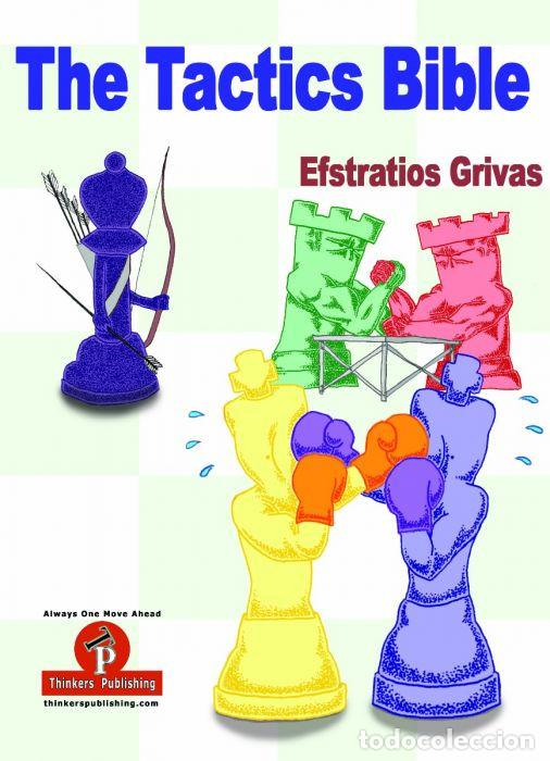 Coleccionismo deportivo: Ajedrez. Chess. The Tactics Bible - Efstratios Grivas - Foto 1 - 147106934