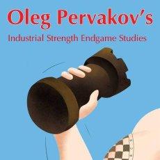 Coleccionismo deportivo: AJEDREZ. CHESS. OLEG PERVAKOV'S INDUSTRIAL STRENGTH ENDGAME STUDIES - SERGEI TKACHENKO. Lote 147107810