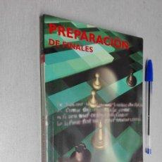 Coleccionismo deportivo: PREPARACIÓN DE FINALES / JON SPEELMAN / ED. PAIDOTRIBO 2ª EDICIÓN . Lote 147308786