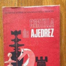 Coleccionismo deportivo: CARTILLA DE AJEDREZ, 1971. Lote 147338326