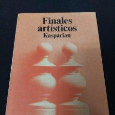 Coleccionismo deportivo: FINALES ARTÍSTICOS. KASPARIAN. Lote 147517858
