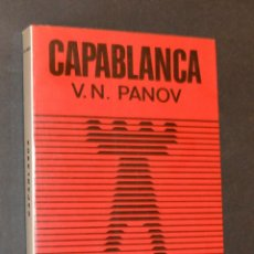 Coleccionismo deportivo: CAPABLANCA - PANOV. Lote 147549094