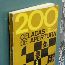 Coleccionismo deportivo: LMV - 200 CELADAS DE APERTURA. EMIL GELENCZEI. Lote 148199442