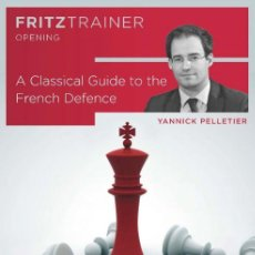 Coleccionismo deportivo: AJEDREZ. CHESS. A CLASSICAL GUIDE TO THE FRENCH DEFENCE - YANNICK PELLETIER DVD. Lote 148498466