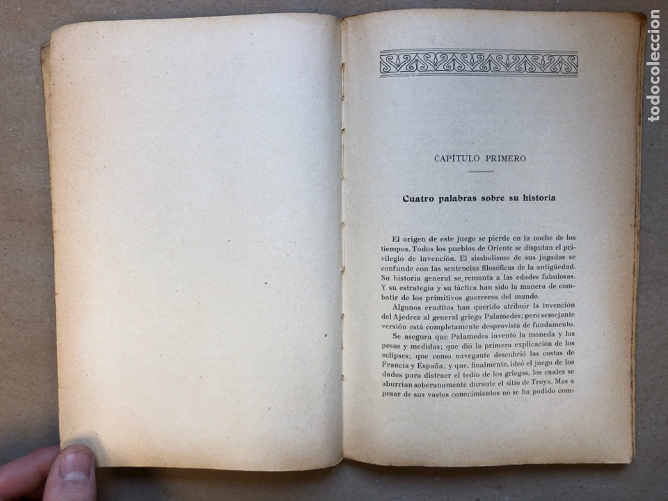 Coleccionismo deportivo: MANUAL DEL AJEDRECISTA. MARTÍN RICART. LIBRERÍA FRANCISCO PUIG 1925. - Foto 3 - 148749878
