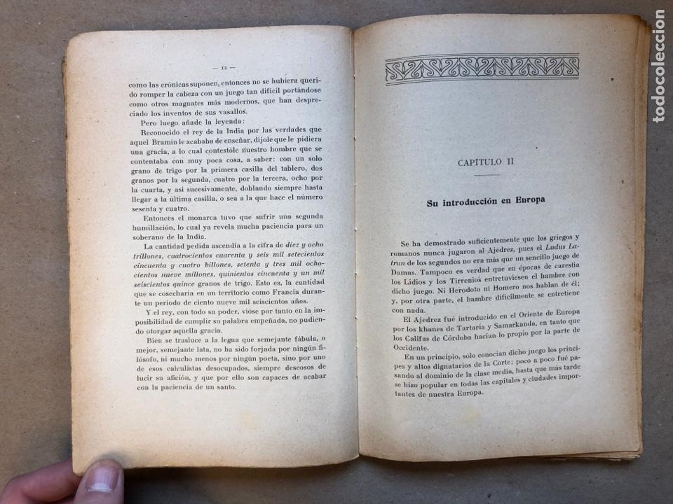 Coleccionismo deportivo: MANUAL DEL AJEDRECISTA. MARTÍN RICART. LIBRERÍA FRANCISCO PUIG 1925. - Foto 4 - 148749878