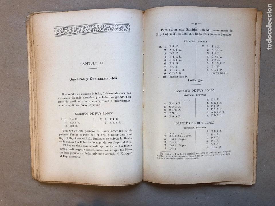 Coleccionismo deportivo: MANUAL DEL AJEDRECISTA. MARTÍN RICART. LIBRERÍA FRANCISCO PUIG 1925. - Foto 6 - 148749878
