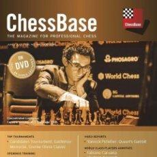 Coleccionismo deportivo: AJEDREZ. CHESS. CHESSBASE MAGAZINE 184 - THE CHESSBASE TEAM DVD. Lote 148774338