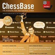 Coleccionismo deportivo: AJEDREZ. CHESS. CHESSBASE MAGAZINE 187 - THE CHESSBASE TEAM DVD. Lote 148835002