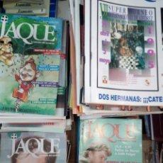 Coleccionismo deportivo: LOTE DE 186 REVISTAS DE AJEDREZ JAQUE, NUEVA EPOCA, 1992-2000, VER DESCRIPCIÓN. Lote 149305486