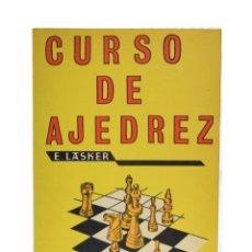 Coleccionismo deportivo: CURSO DE AJEDREZ - LASKER, EMANUEL. Lote 149495209